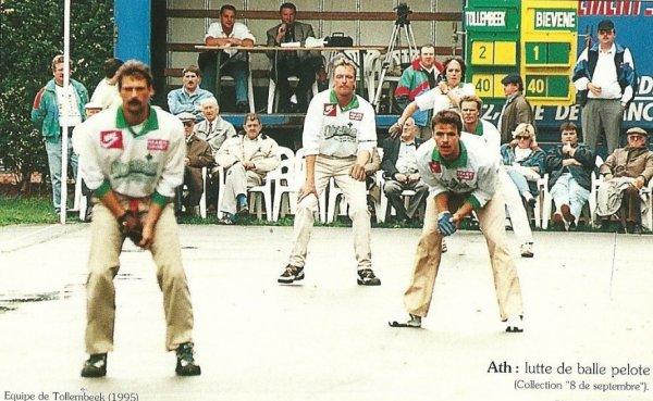 ATH ( Lutte de balle pelote 8 de Septembre ) Equipe de Tollembeek (1995)