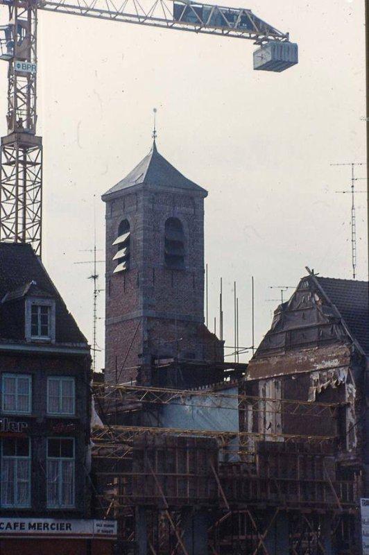 ATH - la reconstruction de l'hôtel de ville dans les années 80.
