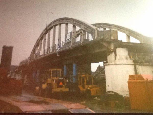 ATH - le démolition du viaduc