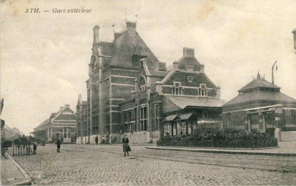 ATH, la gare en 1919