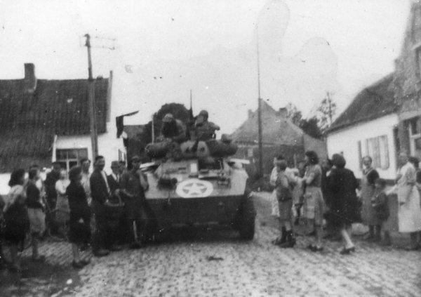 Ormeignies, sept. 1944, libération par les anglais
