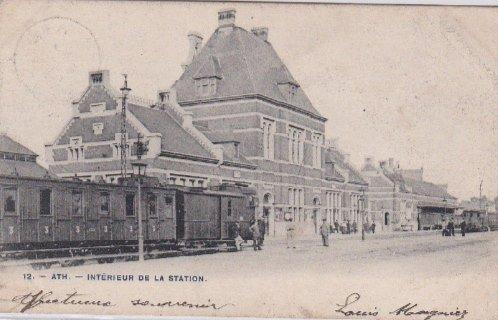 ATH, la gare