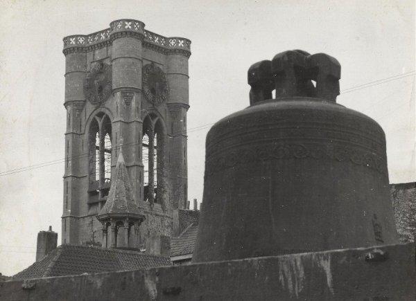 Ath-Saint julien après l'incendie de 1951.