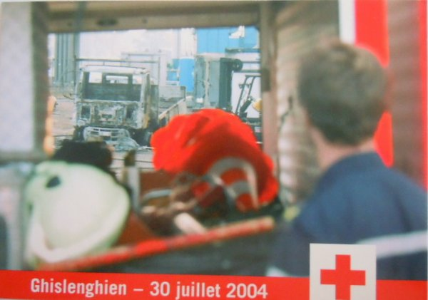 La catastrophe de GHISLENGHIEN, le 30 juillet 2004. Un horrible souvenir.