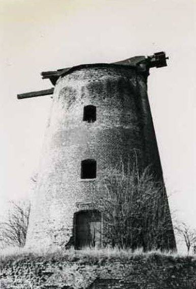 OSTICHES, le blanc moulin en 1982