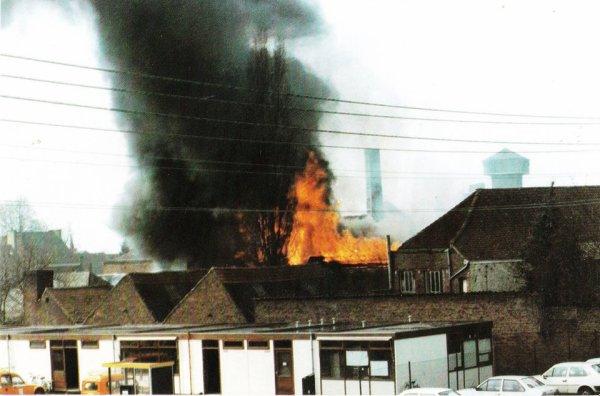 ATH, Incendie de la Chaise Delmée - dans les années 80