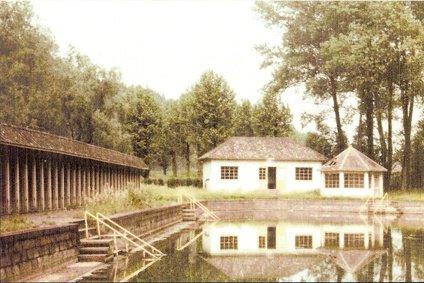 ATH, bassin Ninie en 1972