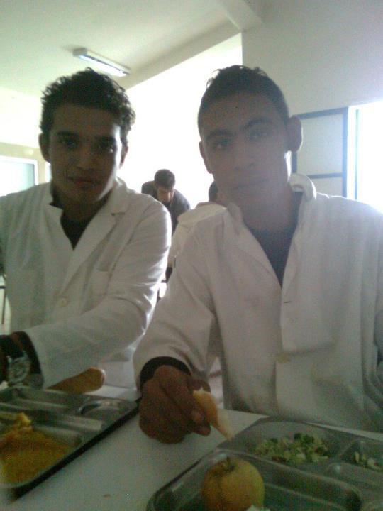 Moi avec mon cousin Atef
