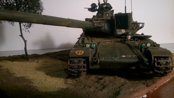 L'AMX 30 B char de bataille de l'armée française