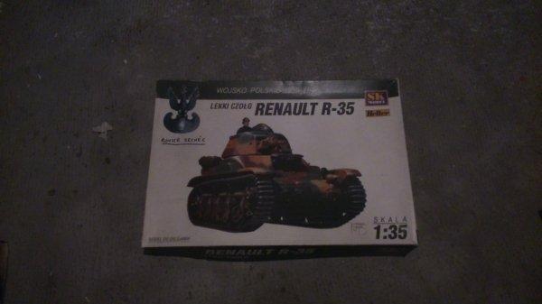LA MAQUETTE DU CHAR RENAULT R35