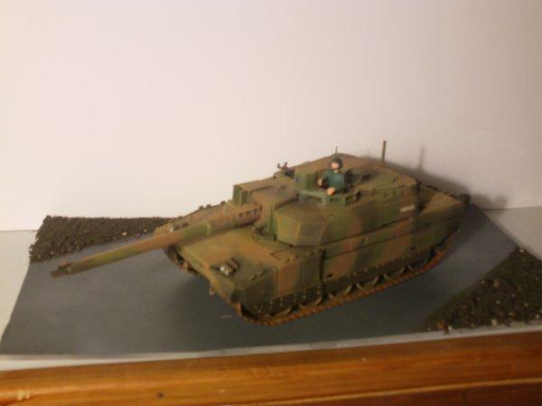 Maquette du char Leclerc