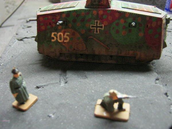 Maquette du Sturmpanzer A7V