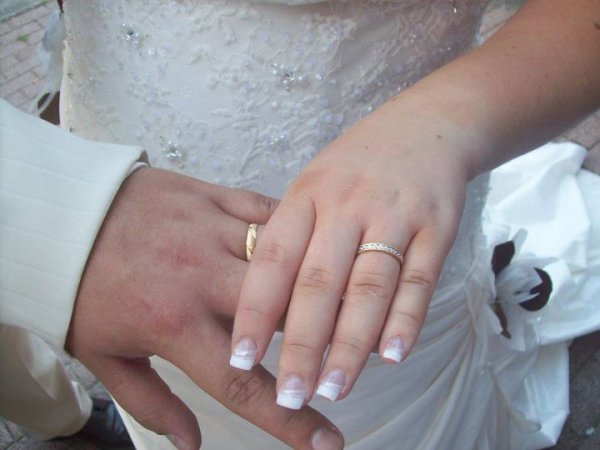 French réalisé sur une belle mariée, ils étaient magnifique.........
