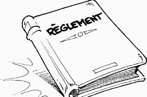 Règlement !
