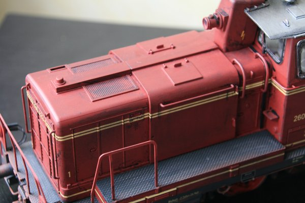 Mise en peinture de ma diesel