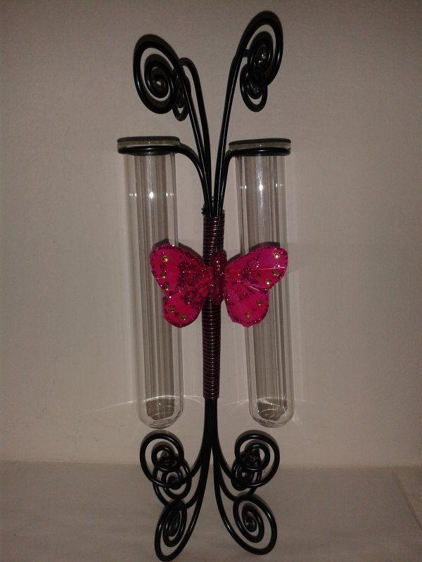 Soliflores pink butterfly