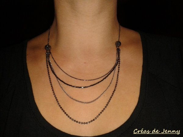 Collier multi rangs