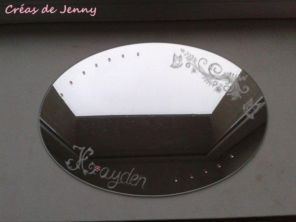 Gravure sur miroir les cr ations de jenny for Gravure sur miroir