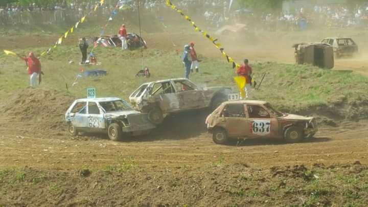 Classement du stock-car a pont d'Ain 2016