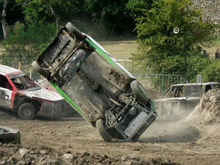Stock-car a pommier en Forez 2016