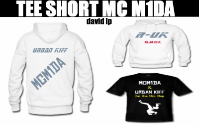 TEE SHORT MC M1DA URBAN KIFF