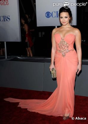 people choice awards 2012 : Demi lovato