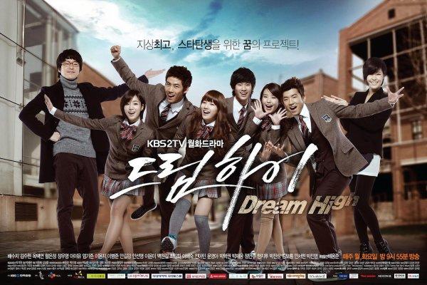 Dream high (meilleur drama que je n'ai jamais vu)