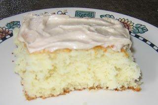 Gâteau des neiges (chocolat blanc)
