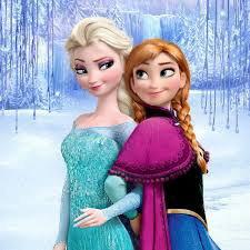 Elsa et Anna <