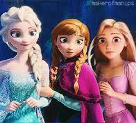 Elsa et Anna et Raiponse