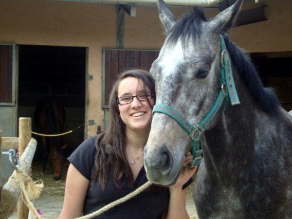 Moi a l'équitation ^^