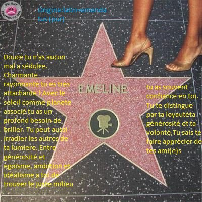 memeline57® présente Vive Emeliine