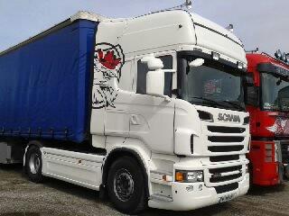 camion de demonstration