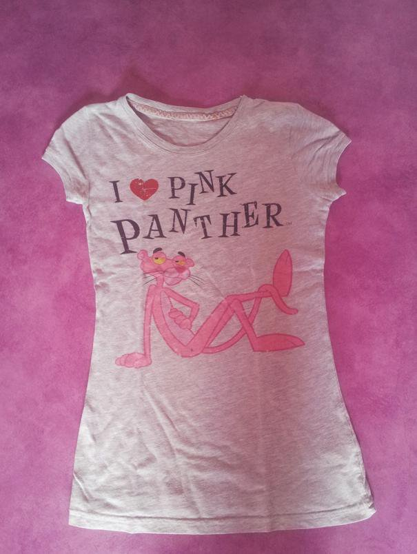 T-shirt la panthère rose