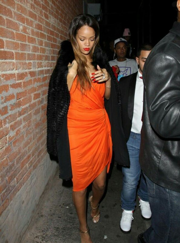 Rihanna le 14/02 ( The Block Night Club )