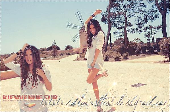 """. Bienvenue sur SublimAshTisdale ◊ """"Nouveau"""" blog fan et source sur Ashley Tisdale !."""