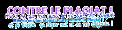 Bienvenu sur mon blog! ♥