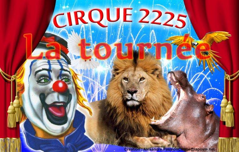 La tournée des cirques