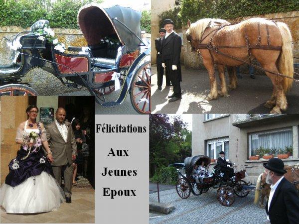 FELICITATIONS AUX JEUNES EPOUX
