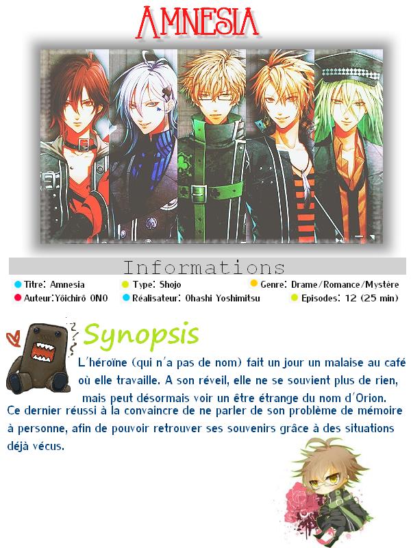 ► Amnesia