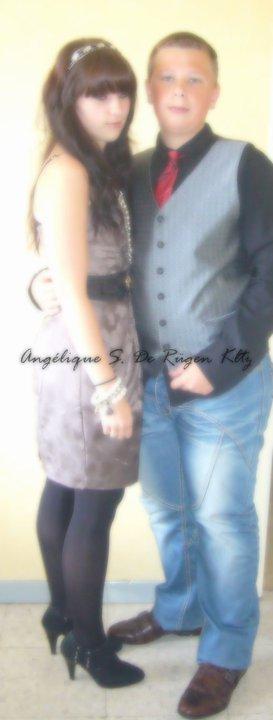 Angélique S. De Rügen Kltz &&` Son petit frère.