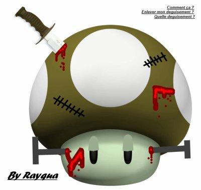 Une autre création : Toad zombie