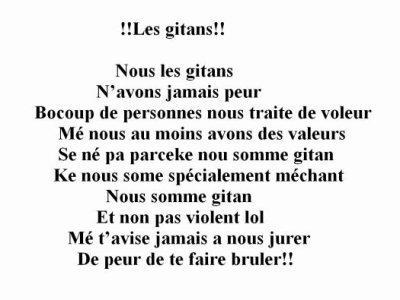 !!!! Les gitans !!!!