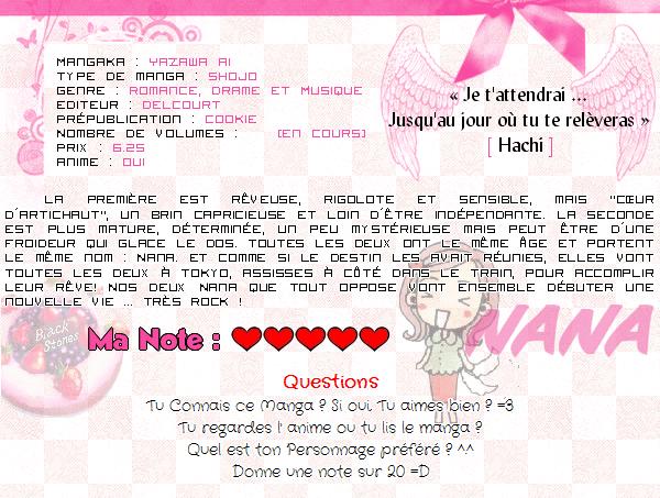 ... ♥ Nana =3 de YAZAWA Ai  [ Romance, Drame & Musique ] ...