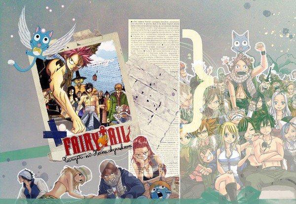 ... ♥ Fairy Tail ^.^ de MASHIMA Hiro  [ Comédie, Aventure & Fantastique ] ...