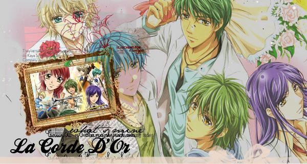 ... La Corda d' Oro de KURE Yuki [ Comédie, Romance & Musique ] ...