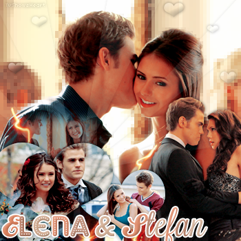 Article Couple || Elena & Stefan (The Vampire Diaries) «Crazy or not, that kind of love never dies» Klaus.______________________________________.________________Creation_ ~ _Inspi décoration_