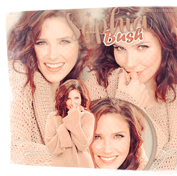 Article Actrice || Sophia Bush «Crazy or not, that kind of love never dies» Klaus.______________________________________.________________Creation_ ~ _Inspi décoration_