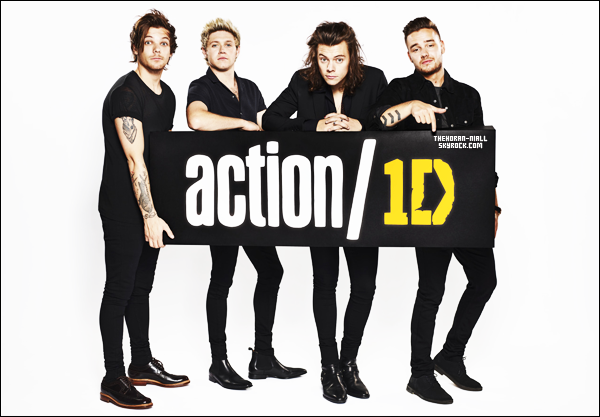 25.07.15 - Photoshoot et vidéo pour Action/1D.