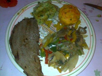 Repas du soir : 24 janvier 2012